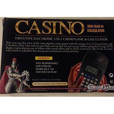 Casino Electronic Game & Calculator: Toys & Games