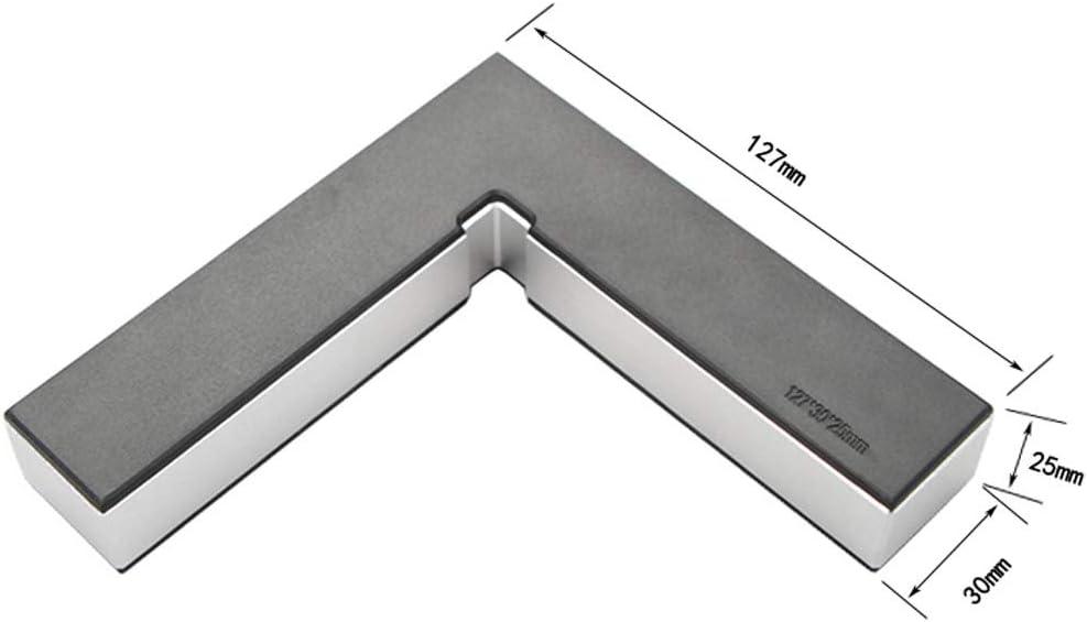 noir outil de menuisier en alliage daluminium type L pour bo/îte Asdomo Lot de 2 /équerres de positionnement 90 degr/és angle droit porte fabrication de cadres photo Noir