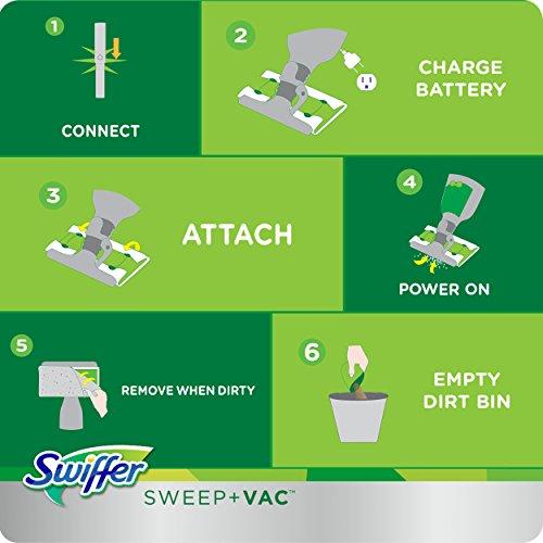 Swiffer Sweep And Vac Vacuum Cleaner Floor Sweeper