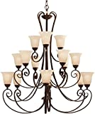 Kichler 1829TZ 15 Light Chandelier