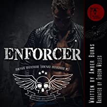 Enforcer: Boneyard Brotherhood MC Audiobook by Amber Burns Narrated by Gideon Welles