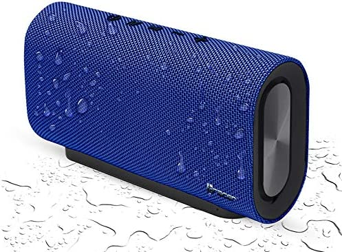 Tracer Rave Blue Altavoz Bluetooth Portátil/Speaker Inalámbrico, 20 W, hasta 8 Horas, Micro SD, Jack 3.5mm, Bluetooth 4.2