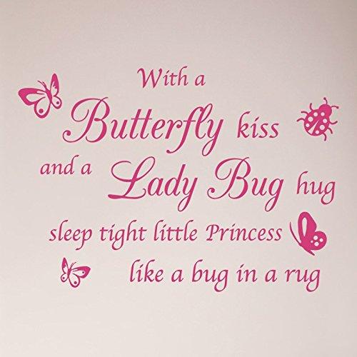 Wall Pink Decorations Ladybug - 32