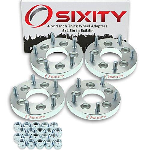 Truck Wheel Adapters - Sixity Auto 4pc 1