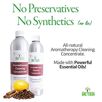 Naeterra Concentrated Multi-Purpose Natural Cleaner - Essential Oil Based  Non Toxic Household