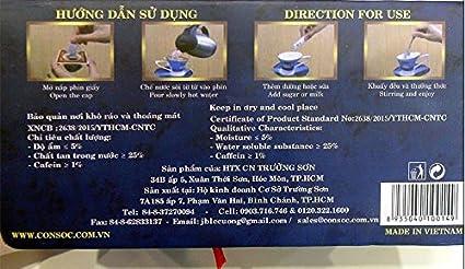 Vietnam Con Soc (Consoc) Ground Coffee Blue Single Box Paper Filter Coffee  (Arabica) (Arabica)