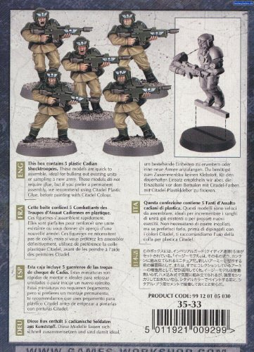 Imperial Guard Cadians Mini-Box by Games Workshop (Warhammer Imperial 40k Guard)