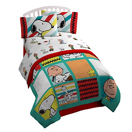 Friends Full Sheet Set - Peanuts Best Friends Full 4 Piece Sheet Set