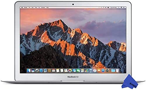 Apple 13in MacBook Air (2017 Version) 1.8GHz Core i5 CPU, 8GB RAM, 256GB SSD, Silver, MQD42LL/A (Renewed) 51rztMUxTdL