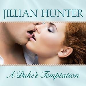 A Duke's Temptation Audiobook