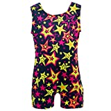 Girls One-piece Leotards for Dance Gymnastics Tumbling Classic Tank Workout Yoga Bodysuit
