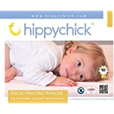 Hippychick Tencel Fitted Mattress Protector, 90 x 200 cm - Single