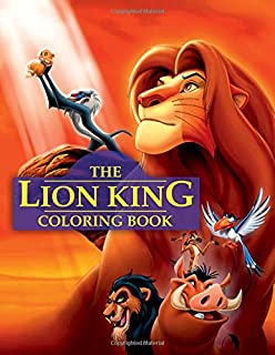 lion king coloring book great book for all ages - Lion King Coloring Book