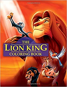 Lion King Coloring Book: Great Book For All Ages: Steve Pictor ...