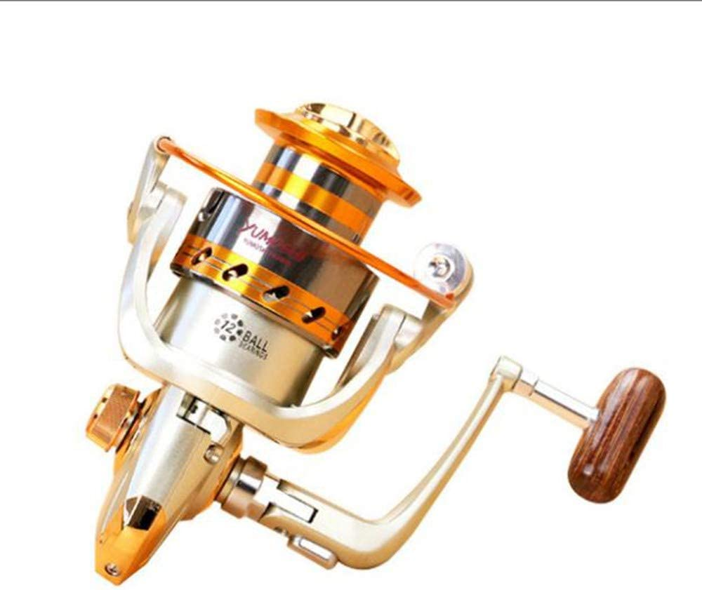 No Carretes de Pesca,Metal Profesional Agua Salada Spinning Pesca ...