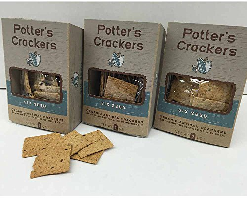 Wisconsin Package Variety (Organic Six Seed Crackers)