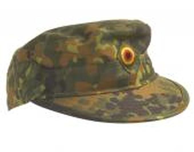 4aebfa4a Original field cap of the German Bundeswehr TL color Flecktarn, olive or  Tropentarn sizes 56-63: Amazon.co.uk: Clothing