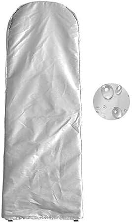 ALGFree Escalera Plegable Cubierta Funda Muebles Protectora Polvo Impermeable Proteccion Solar Cubrir Casa Conjuntos Almacenamiento, 5 Colores (Color : Silver, Size : 50x174x6.5cm): Amazon.es: Hogar