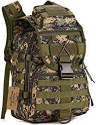 ArcEnCiel Camping Bags Waterproof Molle Backpack Military 3P Tad Tactical Backpack Assault Travel Bag for Men...