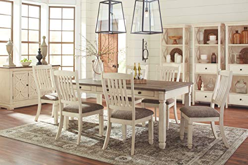 home & kitchen, furniture, kitchen & dining room furniture,  tables  picture, Ashley Furniture Signature Design » Bolanburg Dining Room Table » Antique White deals2