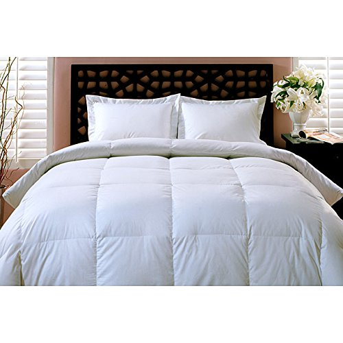 Great Features Of Luxurious All Year Weight 100% White Goose Down Comforter Duvet (King 102/86)