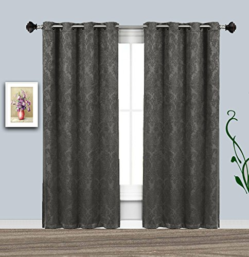 Warm Home Designs 1 Panel of Charcoal Color 54