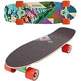 "Street Surfing 28"" Kicktail Mini Cruiser Skateboard"
