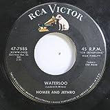 HOMER AND JETHRO 45 RPM WATERLOO / THE BATTLE OF KOOKAMONGA
