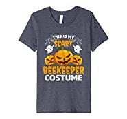 This Is My Scary Beekeeper Costume Funny Halloween Shirt