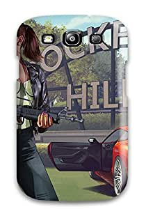 Paul Jason Evans's Shop Special Design Back Grand Theft Auto V Phone Case Cover For Galaxy S3 4553509K29346113