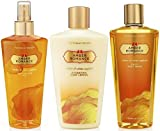 Victoria's Secret Amber Romance Gift Set - Mist, Lotion, Body Wash