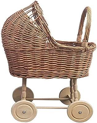Andador Andador Equilibrio Rattan Vintage juguete del empuje ...