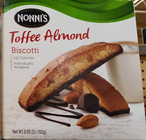 Nonni's Toffee Almond Biscotti 6.88 oz (Pack of -