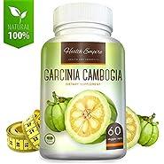 Luxury Garcinia Cambogia - 100% Pure Garcinia Cambogia Extract with HCA - Garcinia Cambogia Pure Extract Capsules for Metabolism Support - Non GMO & Gluten Free - Made in USA - 60 Garcinia Pills
