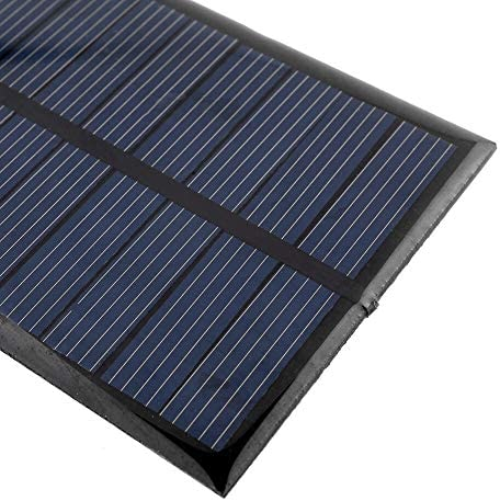 Z.L.FFLZ Mini Solar-Panel Akkuladesolarzelle 6V 1W Power Solar-Panel Standard-Epoxy Polykristalline Mini-Modul-System