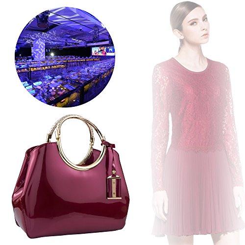 Bagood femme pour Bordeaux Bagood Pochette Pochette fW86FUnn