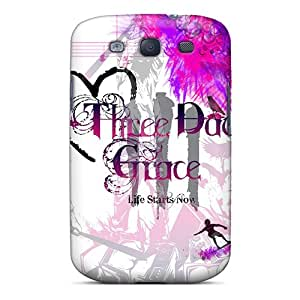 Hard Protect Phone Case For Samsung Galaxy S3 (oOo13812ujVV) Support Personal Customs Realistic Three Days Grace Image