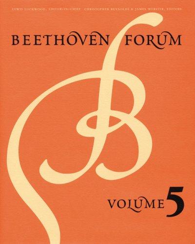 Beethoven Forum, Volume 5 by Brand: University of Nebraska Press