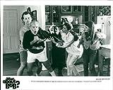 Vintage photo of Bill Murray, Richard Dreyfuss, Julie Beth Hagerty, Kathryn Erbe and Charlie Korsmo.