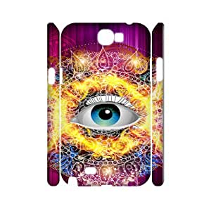 Samsung Galaxy Note 2 N7100 Eyes 3D Art Print Design Phone Back Case Hard Shell Protection YT107027