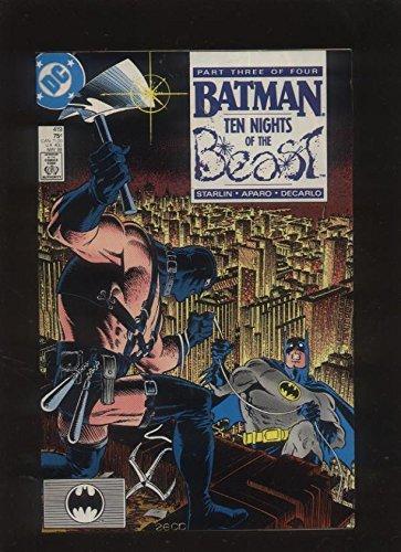 Batman 419 VF/NM Ten Nights of the Beast Starlin 1940 Dc Comics - Men 419