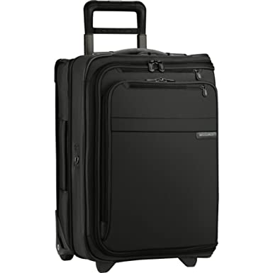 Amazon.com | Briggs & Riley Baseline Domestic Carry-On Upright ...