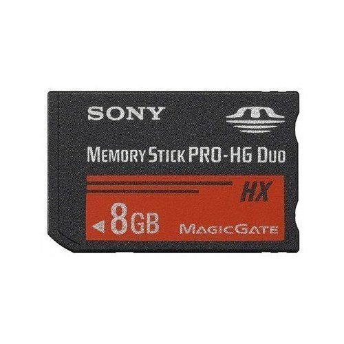 New 8g 8gb Memory Stick Pro-hg Duo Hx Ms Magic Gate Card for Sony PSP Camera ()