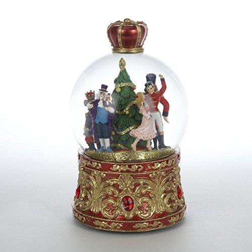 Nutcracker Suite Musical Lighted Holiday Christmas Water Globe by Kurt Adler