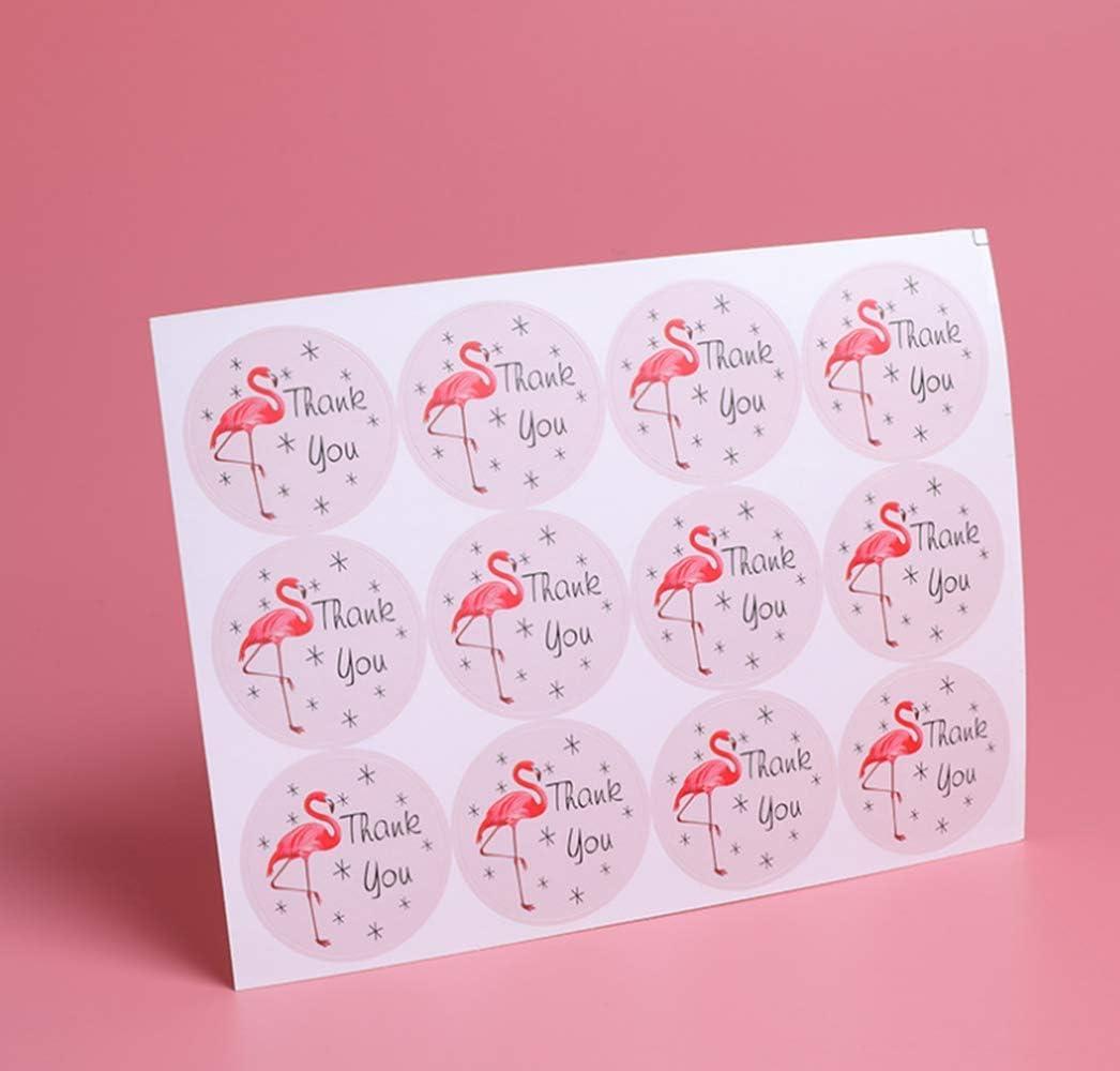 etichette adesive usate per sigillare fiori 600 etichette adesive di ringraziamento cartoline di nozze e buste regalo 6 diversi motivi
