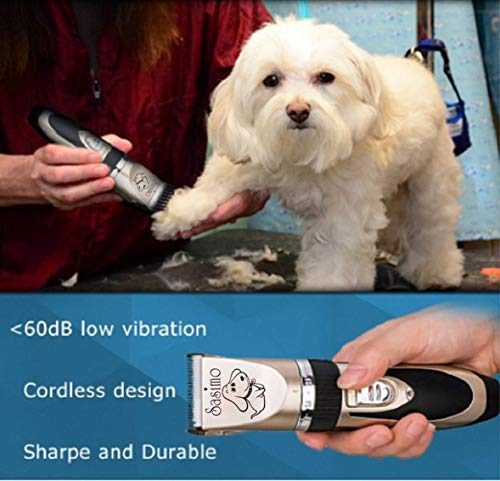 Aysis Professional Automatic Rechargeable Pet Hair Trimmer for Dogs (Pet-Trimmer)