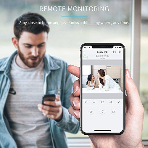 APEMAN WiFi Camera 1080P IP Wireless Surveillance Home Security Camera Cloud Service 2-way Audio Night Vision CCTV Cam Motion Detection by APEMAN (Image #3)