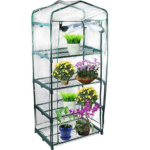 - Kendal Garden Mini Greenhouse (4 Tier)