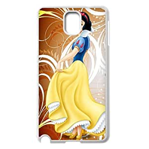 Customized White Soft Rubber(PCV) Disney Cartoon Snow White For Samsung Galaxy S3 TPUKO-Q874604