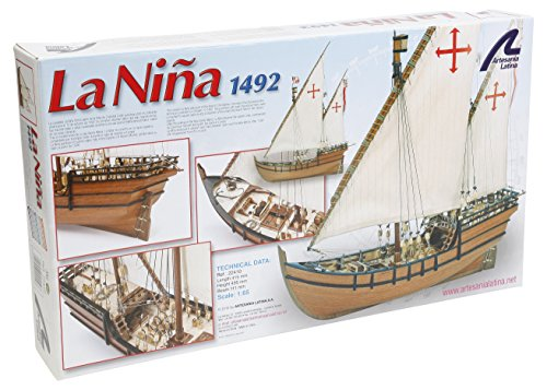 Artesania Latina 22410 1/65 LA Niña Model Building (Artesania Latina Model Ships)